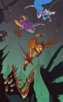 Battle Cry by betsyillustration