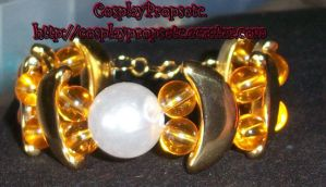 Moon and Stars Usagi Bracelet by CosplayPropsEtc