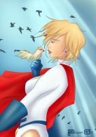 Power Girl DC by Blackpeppermilk