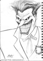 Joker's Wild - sketch by AustenMengler