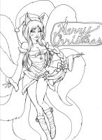 LoL Christmas WIP by TakeAnother-Look