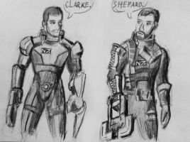 The meeting Shepard and Isaac by spaceMAXmarine