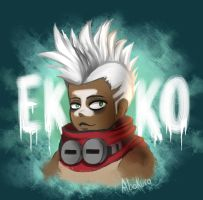 Ekko, The Boy Who Shattered Time by Abakura