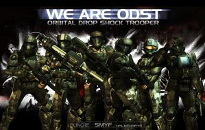We Are ODST by Smyf
