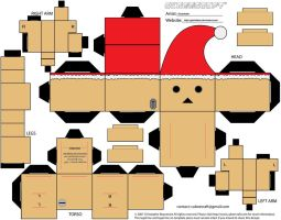 Christmas Danbo Cubeecraft by Gizzlobber