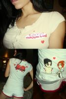 My custom tekken 6 shirt haha by O-Kei