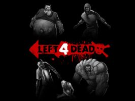 Left 4 Dead Bosses by UFO-etc
