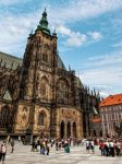 The main tower of the St. Vitus Cathedral by pingallery