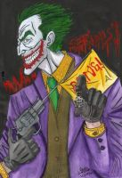 The Joker by artdan24