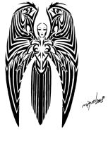 Angel tattoo by Midnite7175