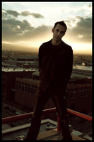 Sunsets and rooftops by DrewDahlman