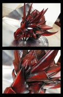 Red Dragon Helmet by carlosdouglas
