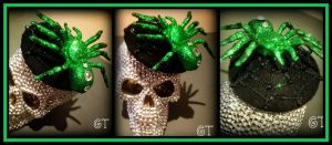 The Jade Spider Tiny Hat. by gertygetsgangster