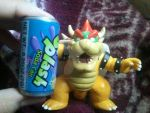 Bowser and the Splash soda can by BenorianHardback26