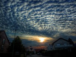 Clouds No10 HDR by Risen-From-The-Ruins