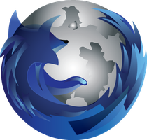 Firefox 5 Silver by delhokie
