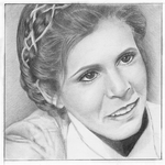 W.I.P. Princess Leia by steel--blue