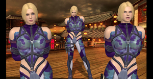 Nina Williams collage by 4wearemanytoo