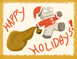 300- HAPPY HOLIDAYS... wups. by Garakow