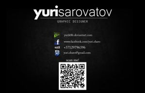 Design for my new Website by Yurik86