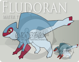 Fake Pokemon - Fludoran by Prinny-Dood