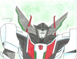 Wheeljack transformers Prime 1 by ailgara