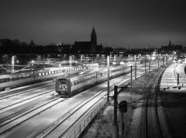 nordic travel -bw- by caithuniverse