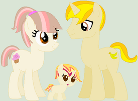 Sweet Treat's Family by mrscookie11