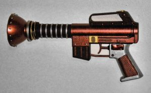 Steampunk Ray Gun 001 by ErikAngelofMusic