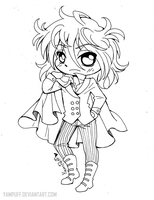 Sora ::Open Lineart: by YamPuff