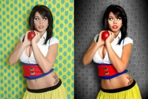 Snow White B4 and After by MichaelCraig