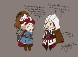 Assassin's Creed 2: Omnomnom by DiamondDropsOfMakai