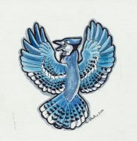 Bluejay Icon by Hbruton