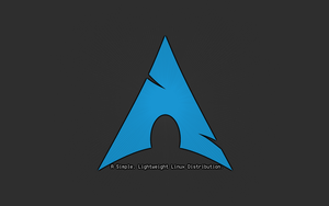 Archlinux Wallpaper by trapd00r