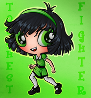 Toughest Fighter by GreenTeaDeer
