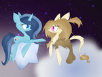 CONTEST .Luna Prophecy and Ace Heart. Follow me by shadcream4eva