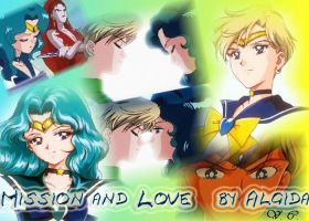 Mission and Love  Haruka and Michiru by celesten