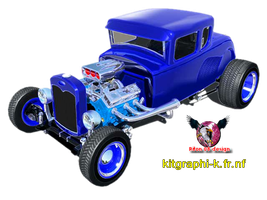 hotrod render by riton08design pour kitgraphi-k.fr by riton08design