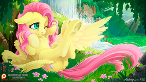 Fluttershy by Ashley-Arctic-Fox