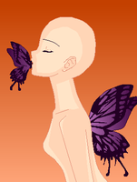 Kiss of an Butterfly :Base: by Venulsaa
