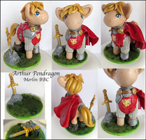 Arthur Pendragon Pony (For Sale) by balletvamp