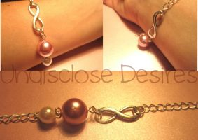 Infinity Bracelet by Undisclose--Desires