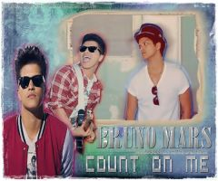 BRUNO MARS COUNT ON ME by DDLoveEditions