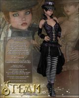 Steam for LoveLace by cosmosue