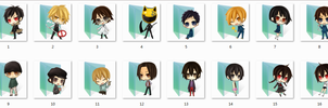 Durarara folder icons by Ginokami6