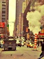 Street of NYC by Silentbobb83