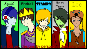 The guys of Stampy's Lovely World by LacrimRain
