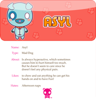 Asyl the Dog by mAi2x-chan