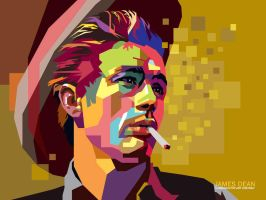 James Dean in WPAP by wedhahai