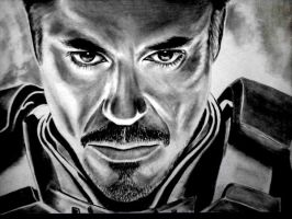 Iron Man - Robert Downey Jr by Jan20000